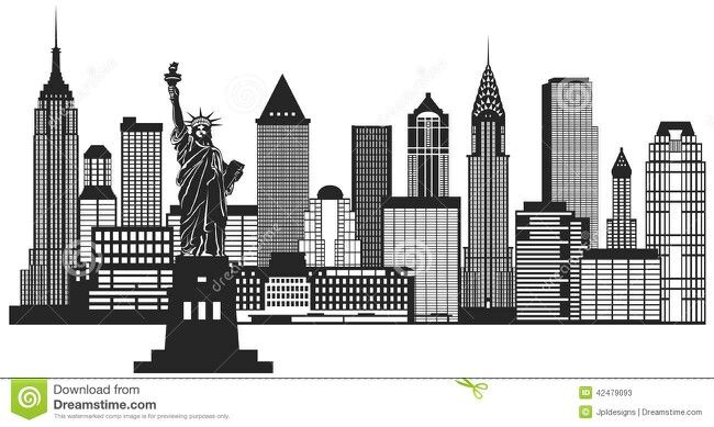 Manhattan skyline black and white clipart vintage clip royalty free library Spiderman City Wall | boys rooms in 2019 | New york skyline ... clip royalty free library