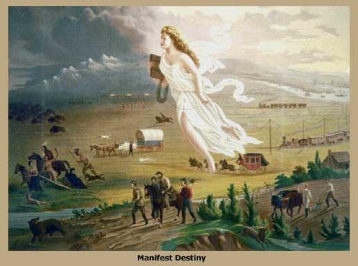 Manifest destiny clipart jpg royalty free download Patriotism and Manifest Destiny | Thinking America Politically jpg royalty free download