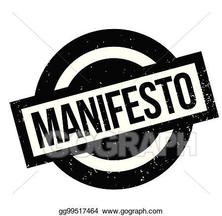 Manifesto clipart graphic freeuse download EPS Illustration - Manifesto rubber stamp. Vector Clipart gg99517464 ... graphic freeuse download