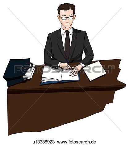 Mann am schreibtisch clipart png library library Zeichnung - kaufleuten zürich, arbeiten, seine, buero, abbildung ... png library library