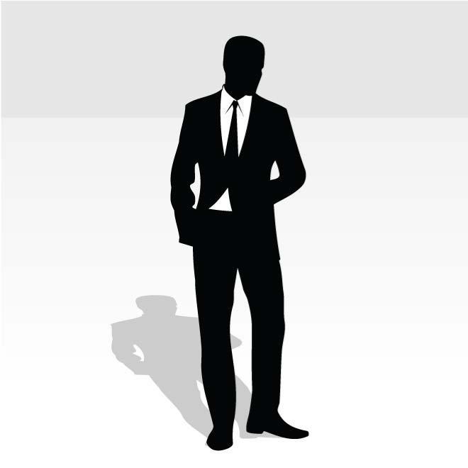 Mann im anzug clipart svg freeuse MANN IM BUSINESS-ANZUG - Download bei Vectorportal svg freeuse