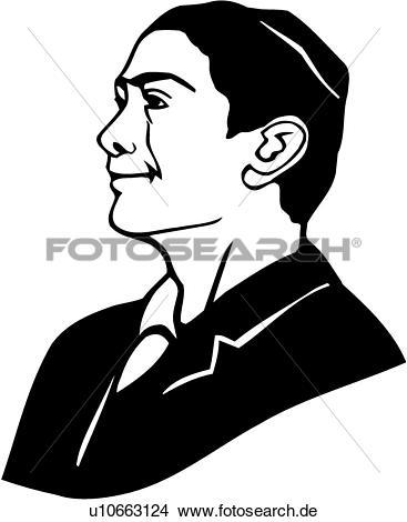 Mann im anzug clipart clipart royalty free stock Clipart - gesicht, kopf, israeli, jude, jüdisch, mann, leute ... clipart royalty free stock