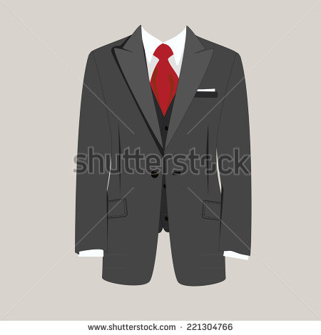 Mann im anzug clipart vector black and white library Mens Suit Stock Images, Royalty-Free Images & Vectors | Shutterstock vector black and white library