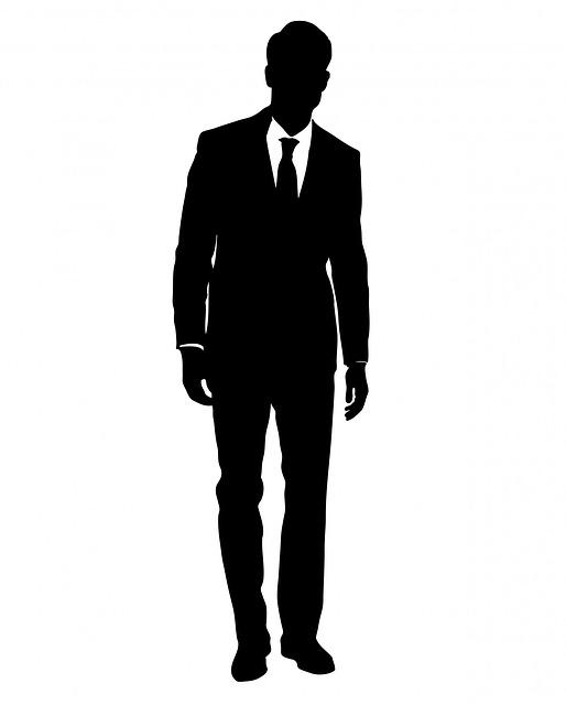 Mann im anzug clipart graphic freeuse download Kostenlose Illustration: Mann, Männlich, Person, Anzug ... graphic freeuse download