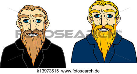Mann mit bart clipart clipart free stock Clipart - älterer mann, mit, bart k13973515 - Suche Clip Art ... clipart free stock