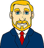 Mann mit bart clipart vector free stock Clipart - älterer mann, mit, bart k13973515 - Suche Clip Art ... vector free stock