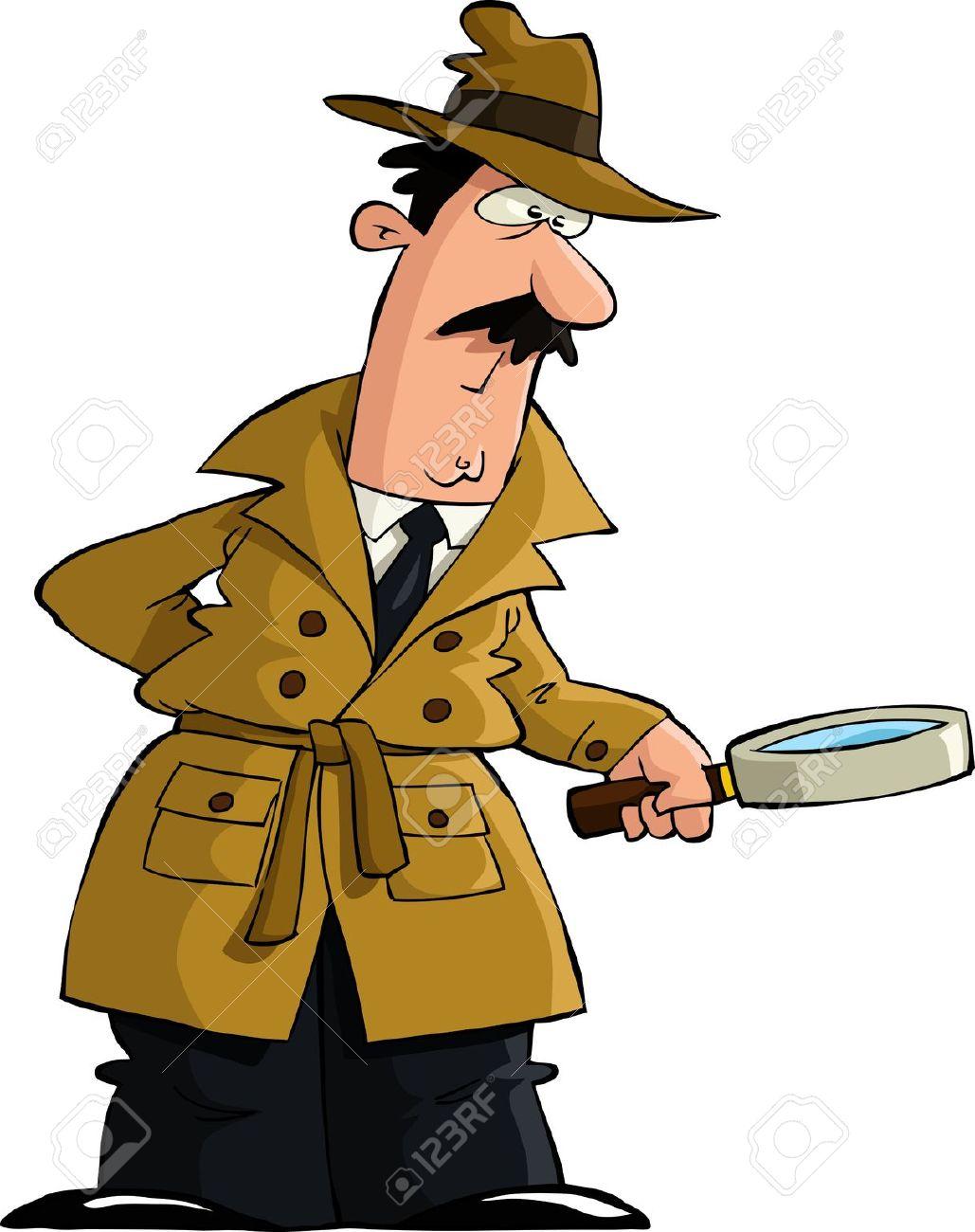 Mann mit lupe clipart free library Detektiv mit lupe clipart - ClipartFox free library