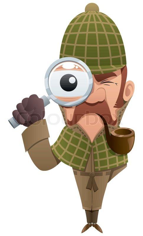 Mann mit lupe clipart clip free Detektiv mit lupe clipart - ClipartFox clip free