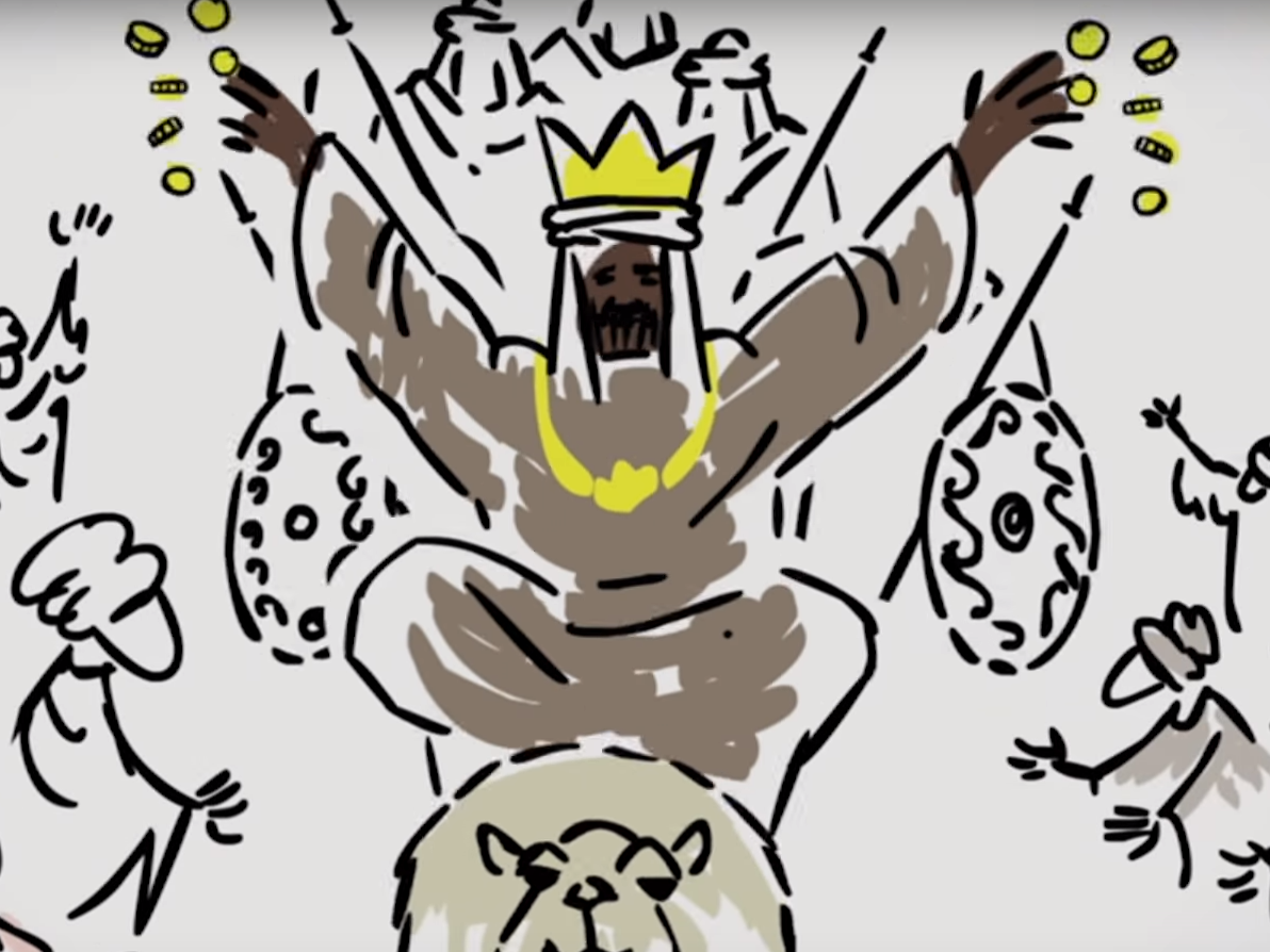 Mansa musa clipart jpg free Here\'s what it was like to be Mansa Musa, thought to be the richest ... jpg free