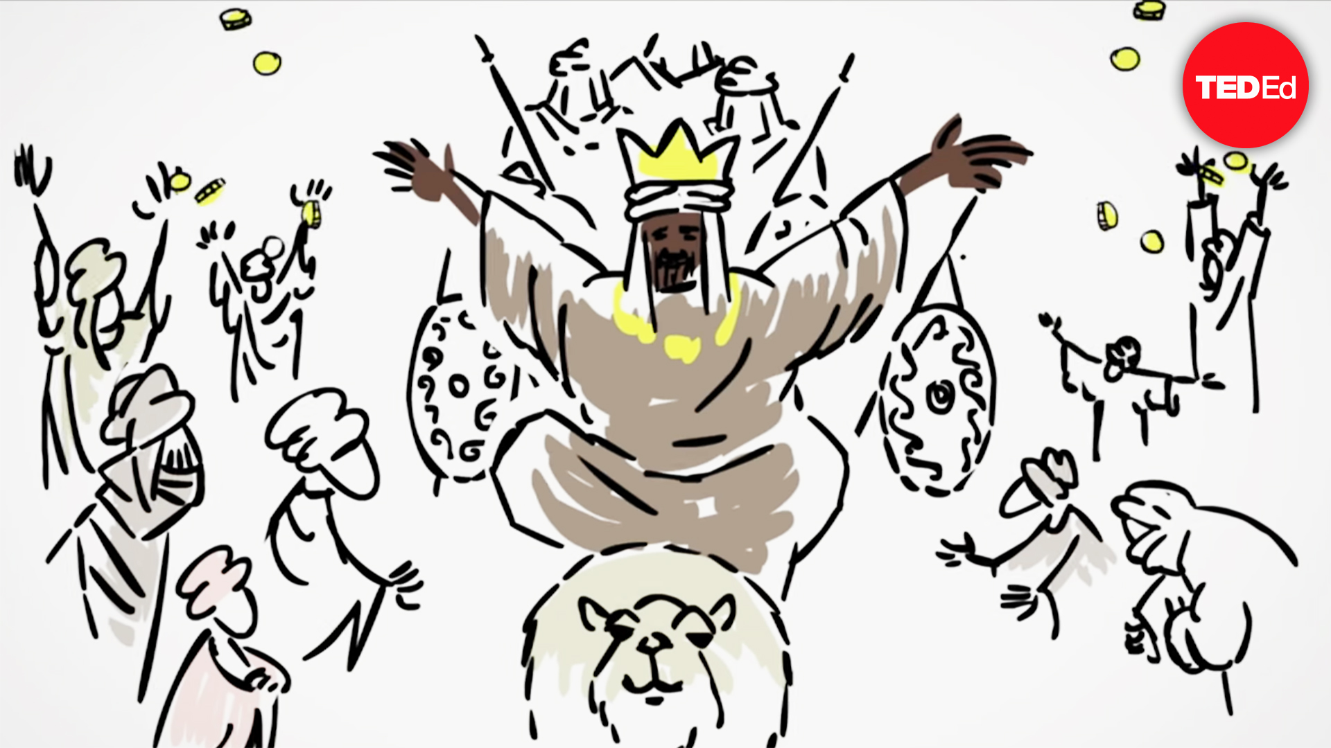 Mansa musa clipart image royalty free stock Mansa Musa, one of the wealthiest people who ever lived image royalty free stock