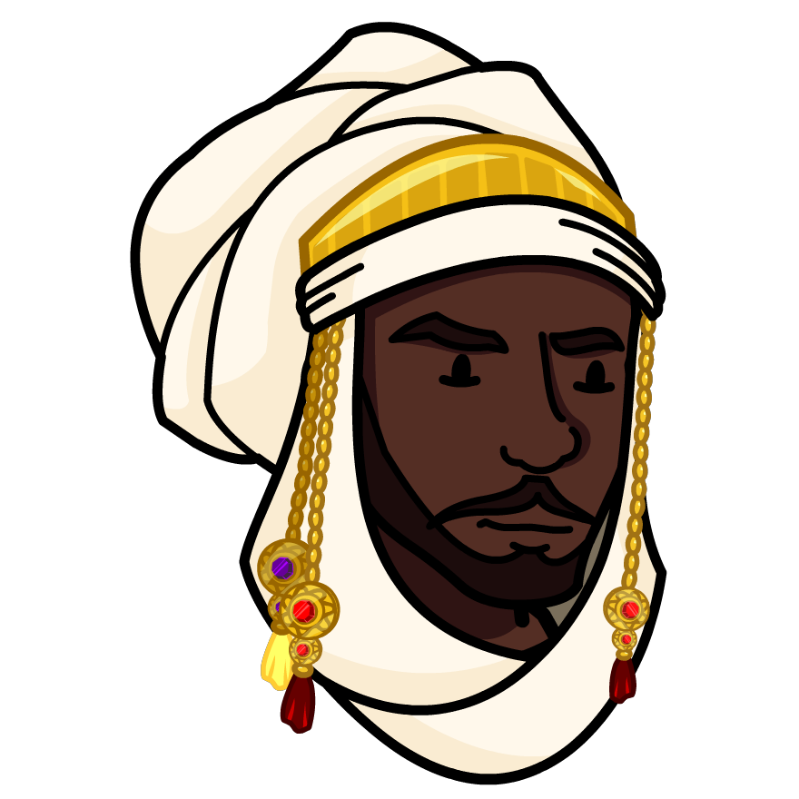 Mansa musa clipart picture black and white download Mansa Musa - BrainPOP picture black and white download