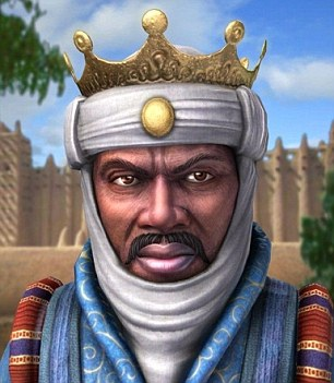 Mansa musa clipart graphic black and white download The YES! They Were BLACK Series – Mansa Musa I – The Richest African ... graphic black and white download