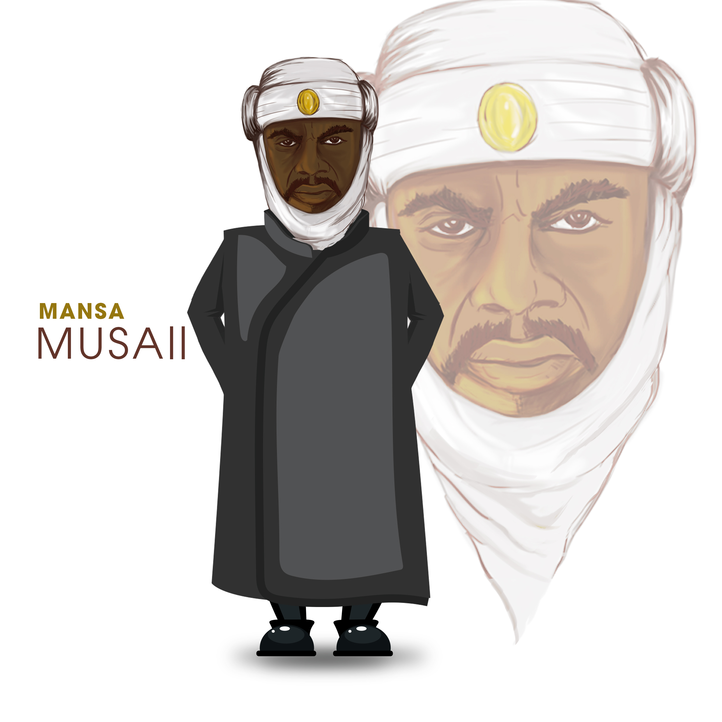 Mansa musa clipart clip transparent download MANSA MUSA II: IN THE LAND OF DEMOCRACY, YOU CAN ALWAYS SPEAK YOUR ... clip transparent download