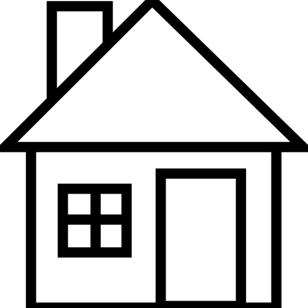 Mansion icon clipart black and white no copyright png transparent library Construction Clipart Library Basketball Hatenylocom - Outline House ... png transparent library