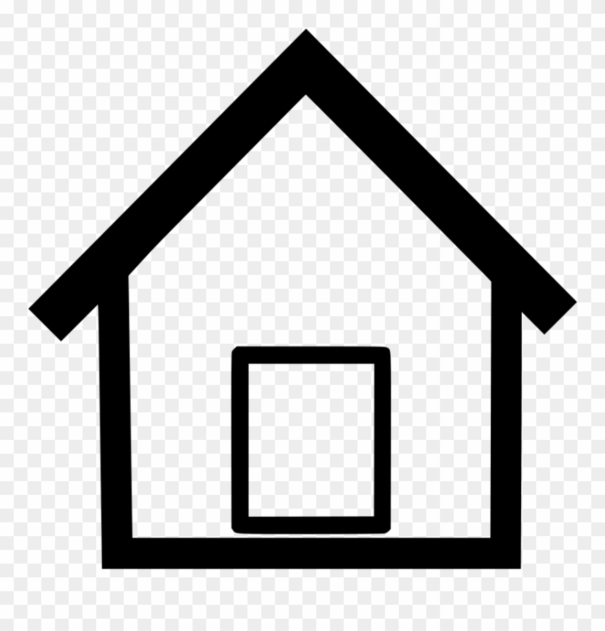Home clipart black and white free download jpg black and white stock Royalty Free Simple House Clip Art Black And White - Pexel jpg black and white stock