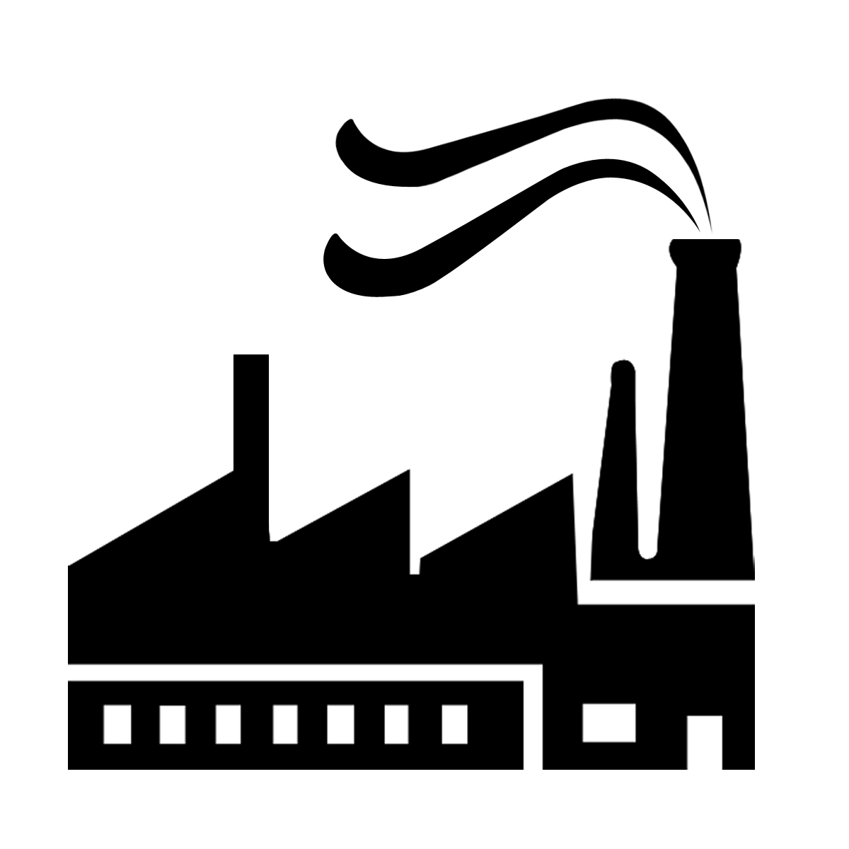 Manufacturing companies in clipart clip art black and white stock Industry clipart industrial sector - 180 transparent clip arts ... clip art black and white stock