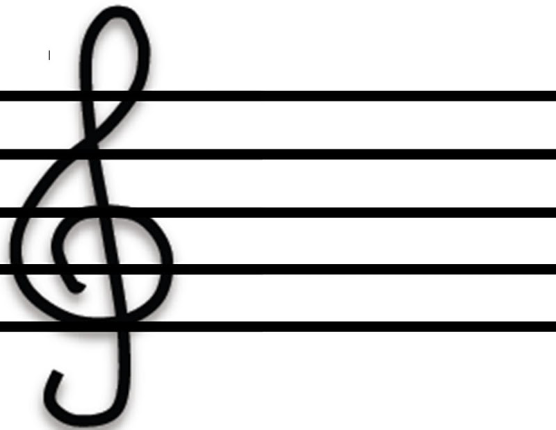 Music score clipart empty rainbow free stock Free Blank Staff Cliparts, Download Free Clip Art, Free Clip Art on ... free stock