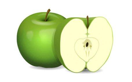 Verte clipart clip free stock Imágenes clip art y gráficos vectoriales Manzana verde Clip Art ... clip free stock