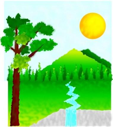 Manzara clipart clipart transparent Manzara clipart » Clipart Portal clipart transparent