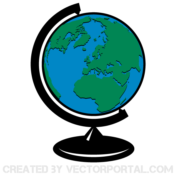 Map and globe clipart clip freeuse Globe Map Clipart - Clipart Kid clip freeuse