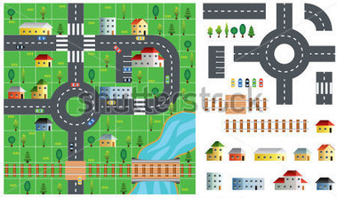 Map and road clipart clip free Map and road clipart - ClipartFest clip free
