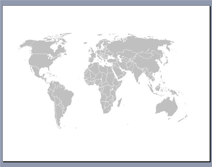 Map clipart for powerpoint image black and white stock Free Editable Worldmap for Powerpoint - Download image black and white stock