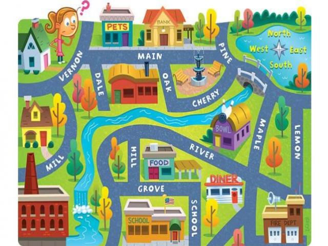 Town Clipart simple map 3 - 638 X 479 Free Clip Art stock ... freeuse library