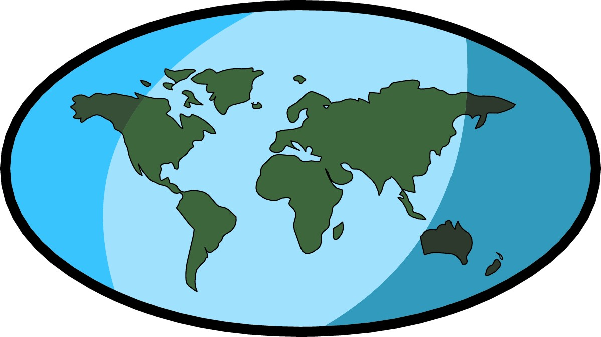 Map of earth clipart graphic royalty free stock Earth Clipart | Free download best Earth Clipart on ClipArtMag.com graphic royalty free stock
