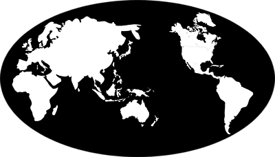 Map of earth clipart black and white vector library library Free World Globe Art, Download Free Clip Art, Free Clip Art on ... vector library library