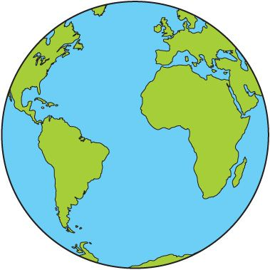 Map of earth clipart picture freeuse library Pin by Project R2 on Lee | Earth clipart, Planet earth pictures ... picture freeuse library