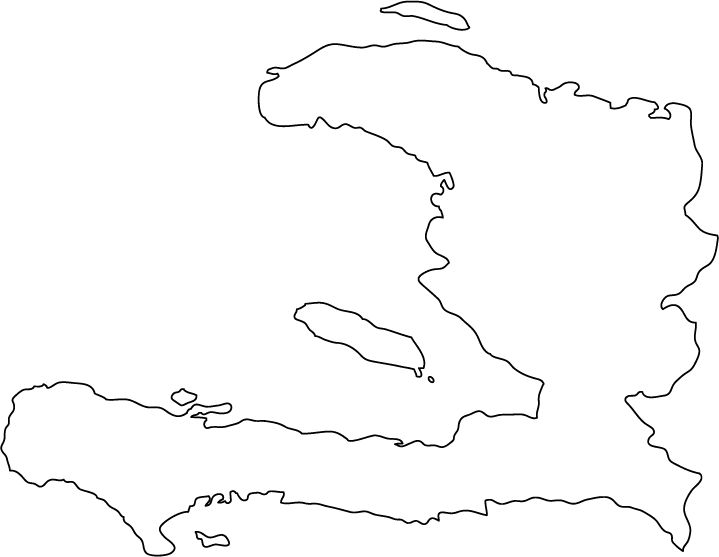 Map of haiti clipart graphic library stock Download haiti map outline clipart Haiti Map Clip art graphic library stock