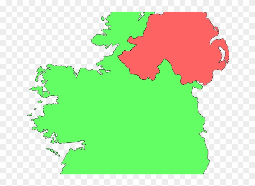 Map of ireland clipart clipart royalty free Kilkenny Councillors Back Border Poll, Referendum On - Map Of ... clipart royalty free