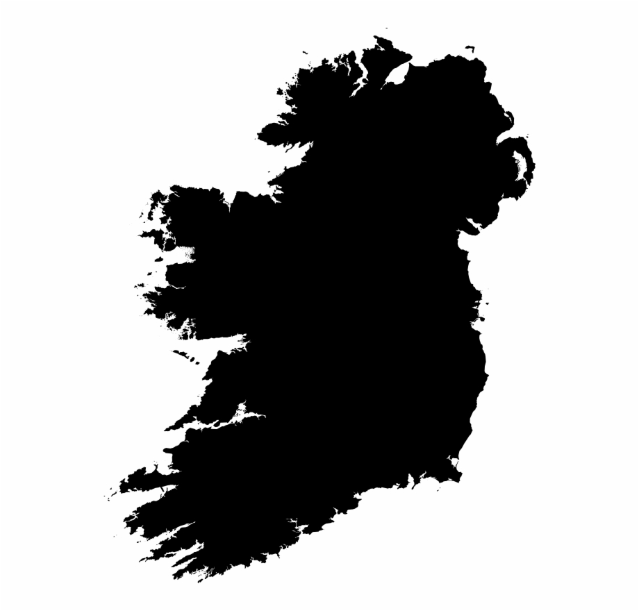 Map of ireland clipart vector royalty free download Clipart - Ireland Silhouette - Png - Map Of Ireland Free PNG Images ... vector royalty free download