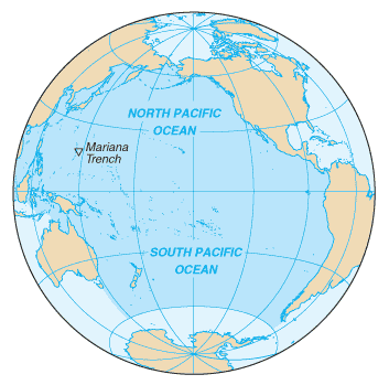 Map of pacific ocean clipart graphic free stock Pacific ocean clipart - ClipartFest graphic free stock