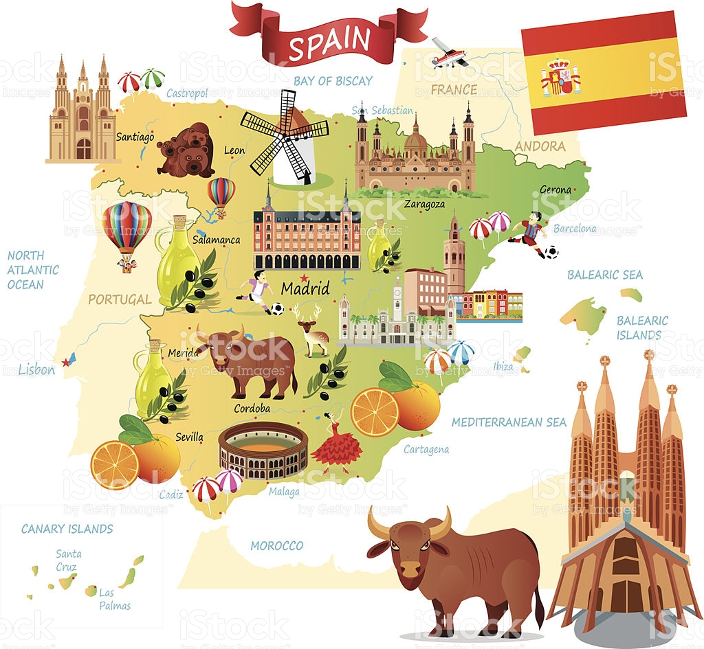Map of spain clipart graphic library Spain clipart map collection graphic library