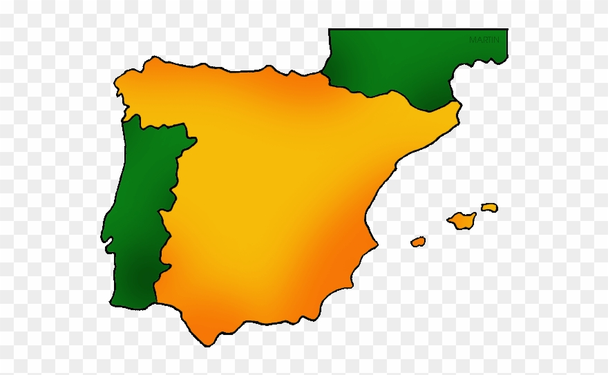 Map of spain clipart free Spain Map - Spain Europe Map Icon Clipart (#769194) - PinClipart free