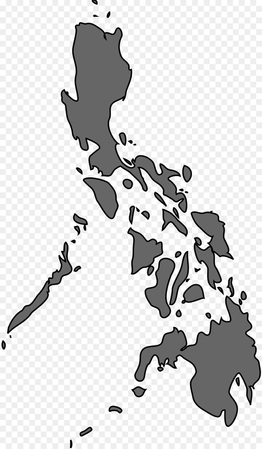 Map of the philippines clipart
