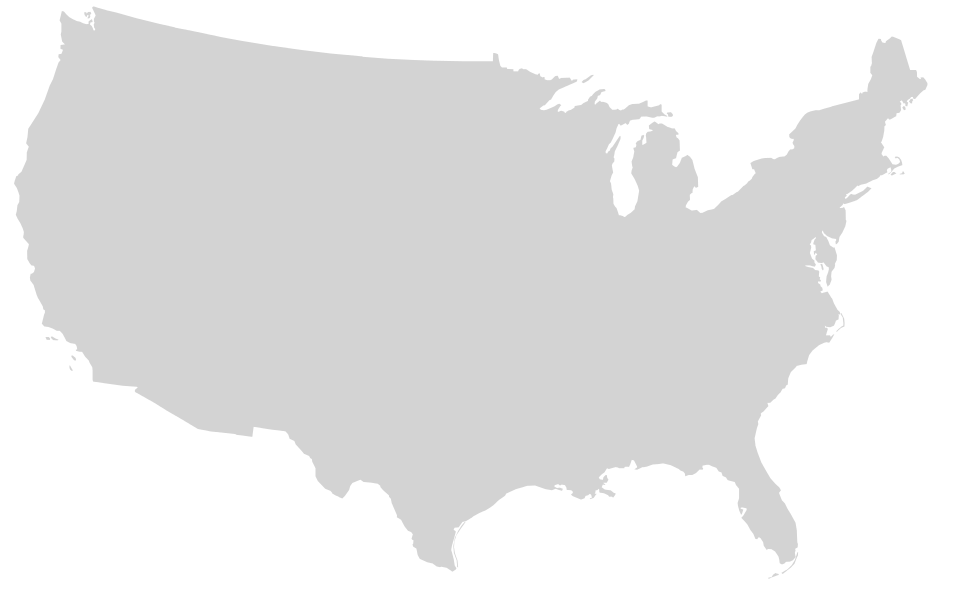 United states simple outline clipart graphic black and white download File:Blank US Map, Mainland with no States.svg - Wikimedia Commons graphic black and white download