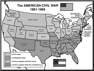 Library of map of united states picture freeuse library ...