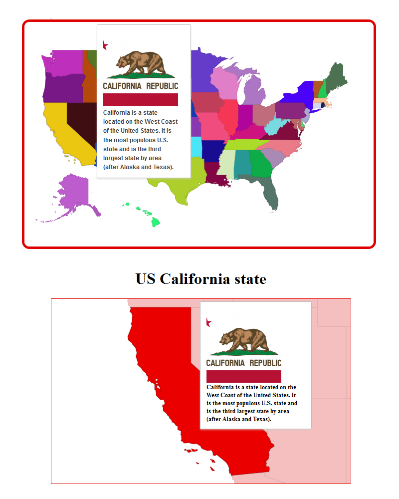 Map of western us and alaska clipart png freeuse stock Google Interactive Maps by edarco   CodeCanyon png freeuse stock