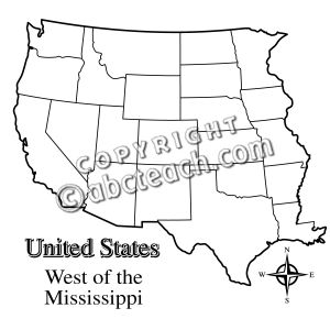 Map of western us clipart picture royalty free library Map of western us clipart - ClipartFest picture royalty free library