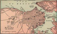 Mapa artistico de la habana cuba clipart svg royalty free library Las 95 mejores imágenes de Planos y mapas de Cuba y La ... svg royalty free library