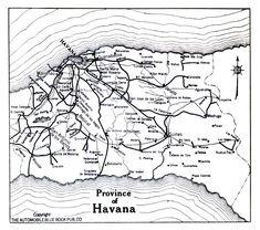 Mapa artistico de la habana cuba clipart picture library library Las 95 mejores imágenes de Planos y mapas de Cuba y La ... picture library library