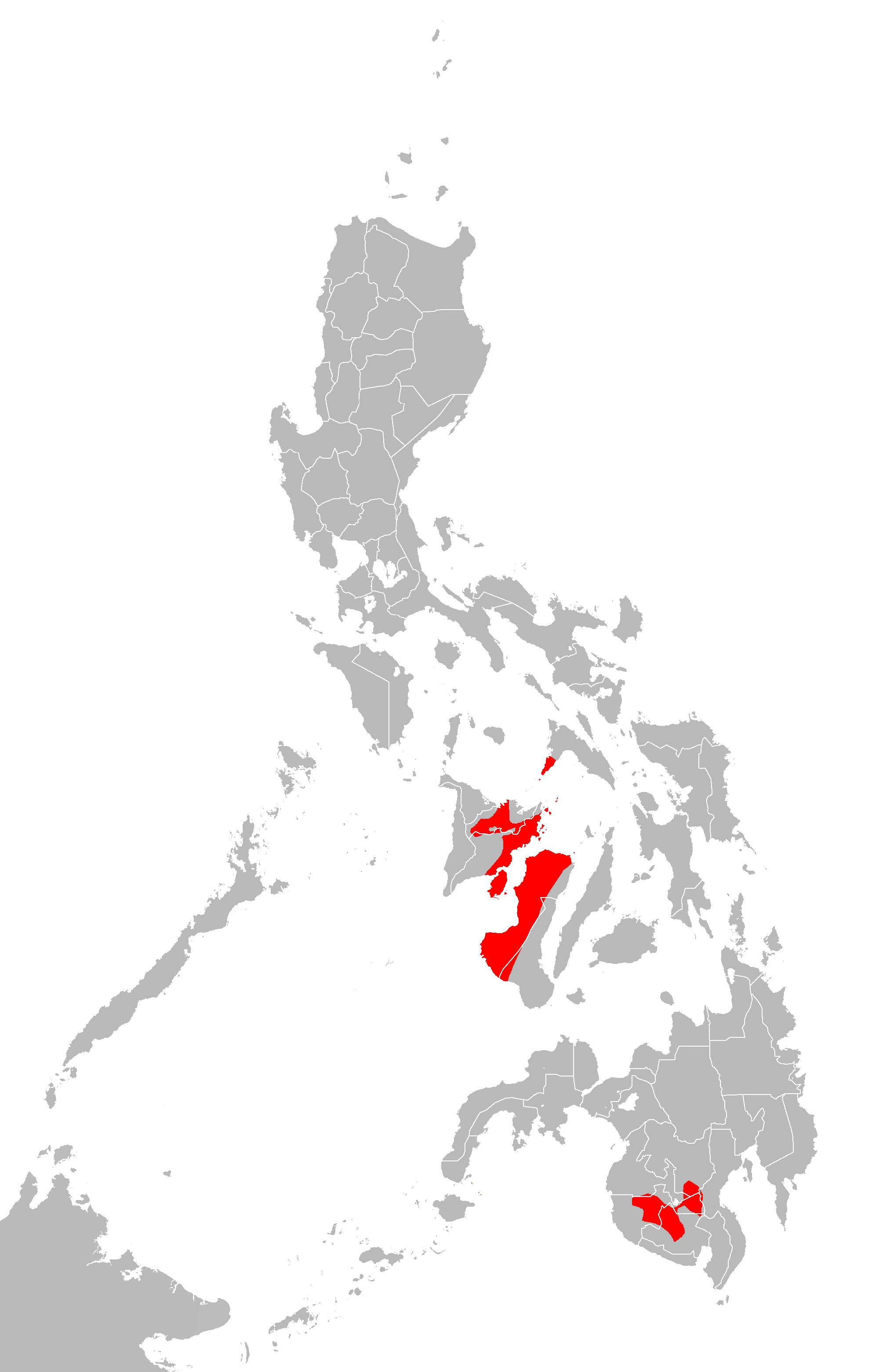 Mapa ng pilipinas clipart