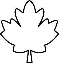 Maple leaf clipart black and white image royalty free library Maple Leaf Black And White Clipart Panda Free Clipart Images | Clip ... image royalty free library