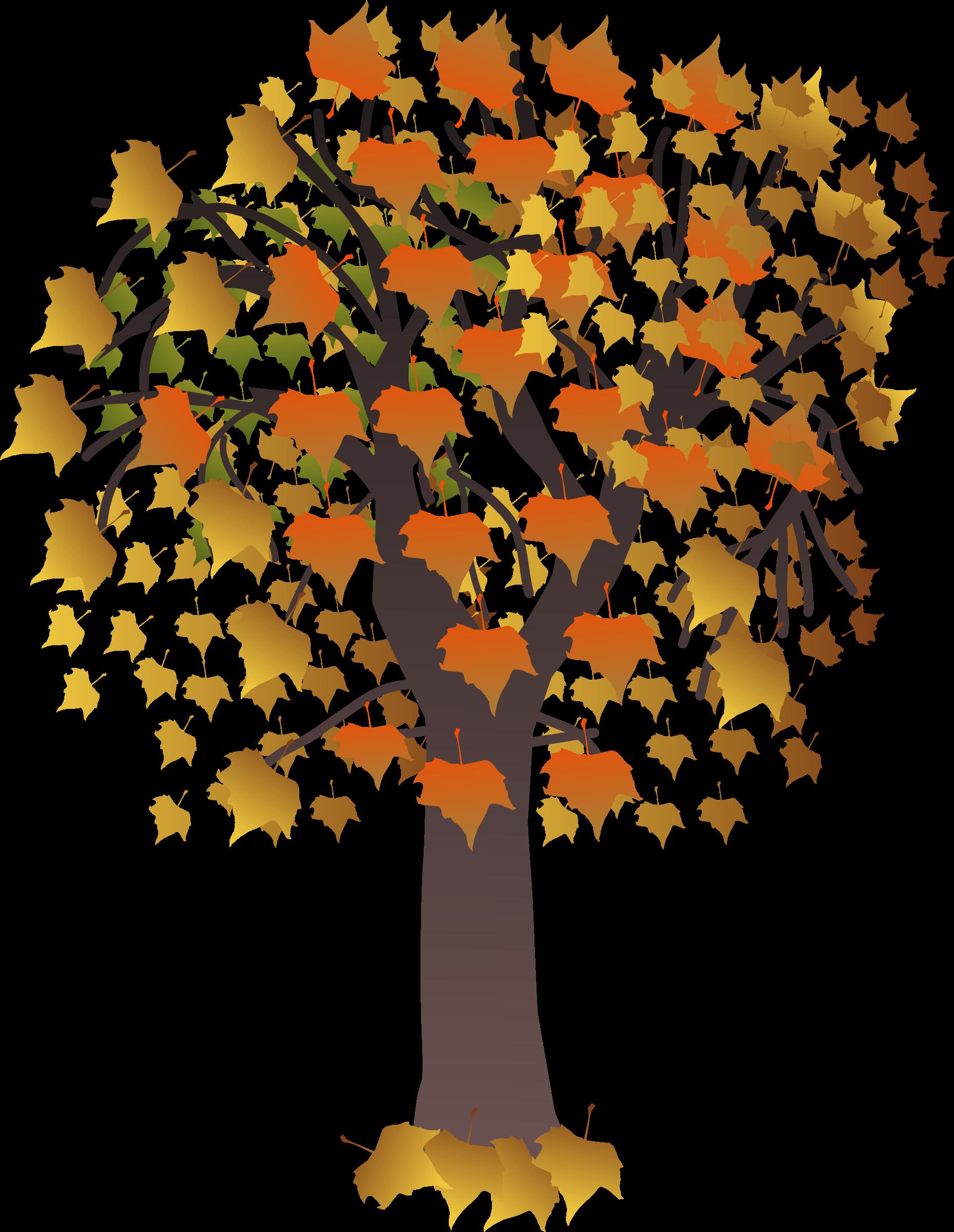 Maple tree clipart jpg black and white stock Clipart - Maple autumn jpg black and white stock