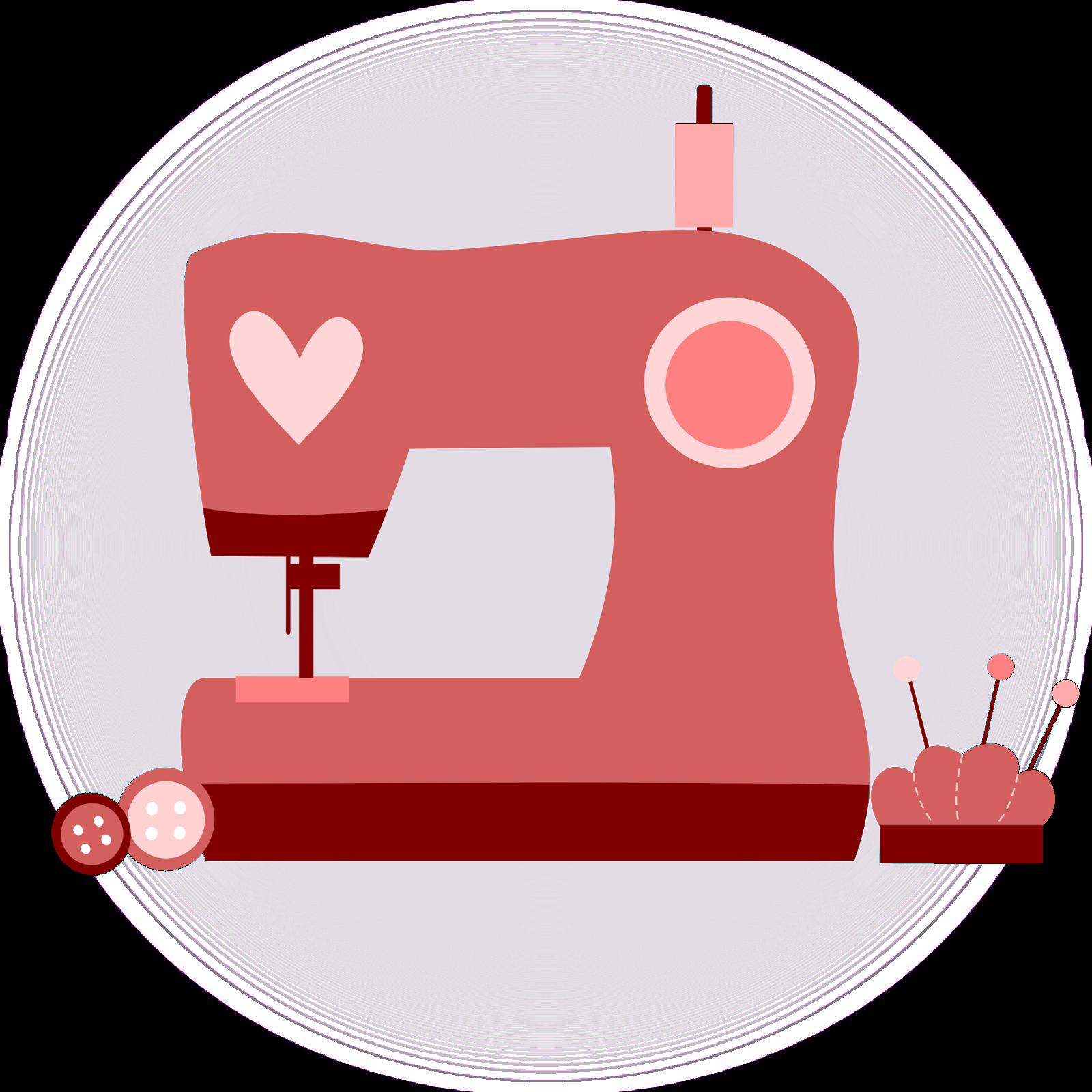 Maquina de costura clipart picture freeuse inkscape, clip art, rosa, corazón, diseño, máquina coser, costura ... picture freeuse