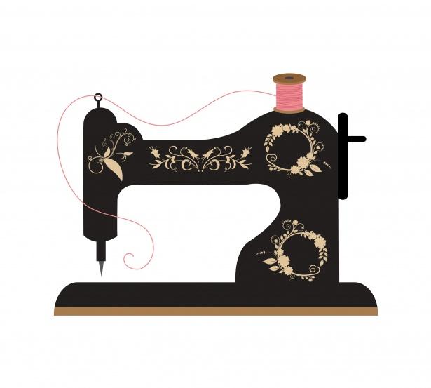 Maquina de costura clipart image download Clipart de máquina de costura retrô Foto stock gratuita - Public ... image download