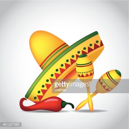 Maracas and sombrero clipart image free download Sombrero, Maracas and premium clipart - ClipartLogo.com image free download