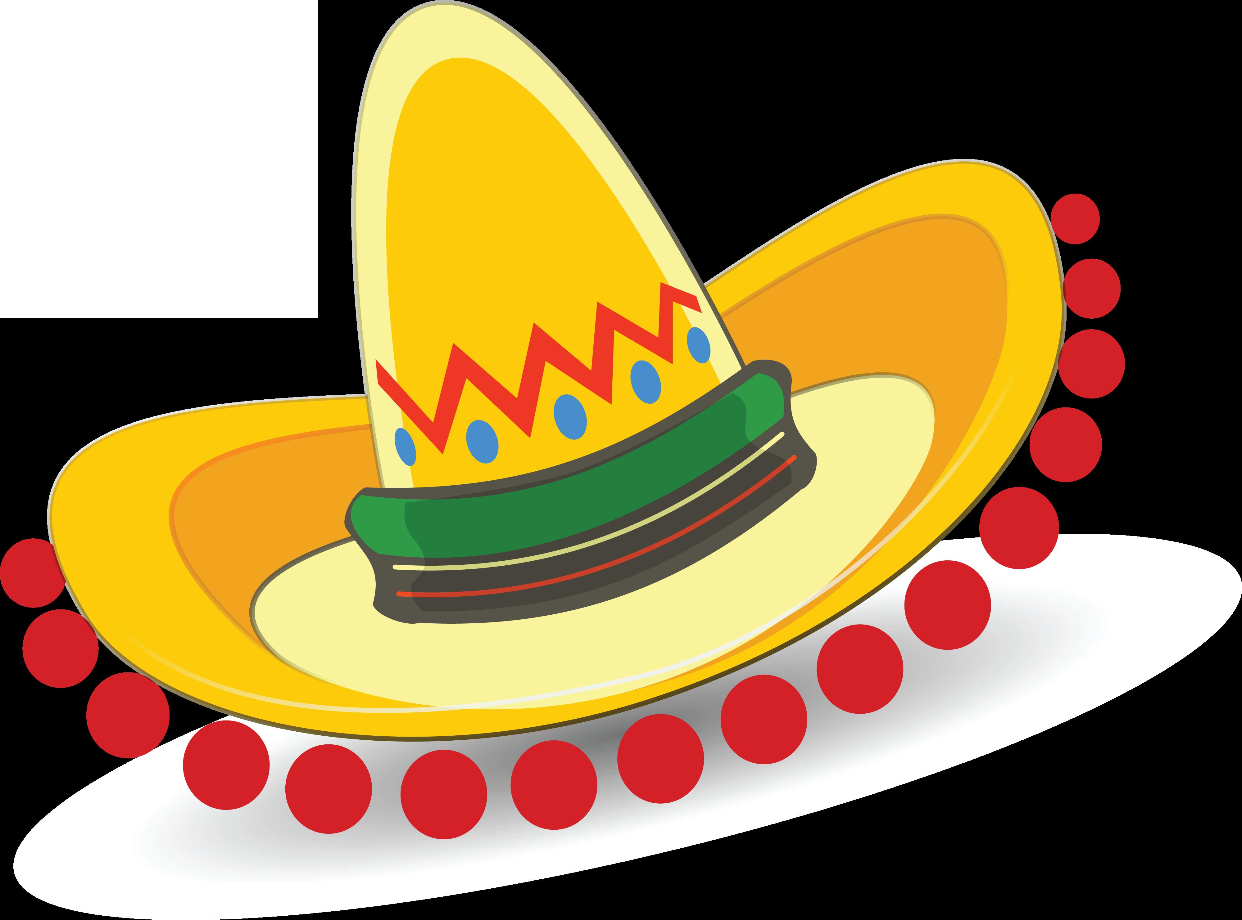 Maracas and sombrero clipart clip art library HD Free Clipart Of A Mexican Sombrero - Sombrero Clip Art ... clip art library